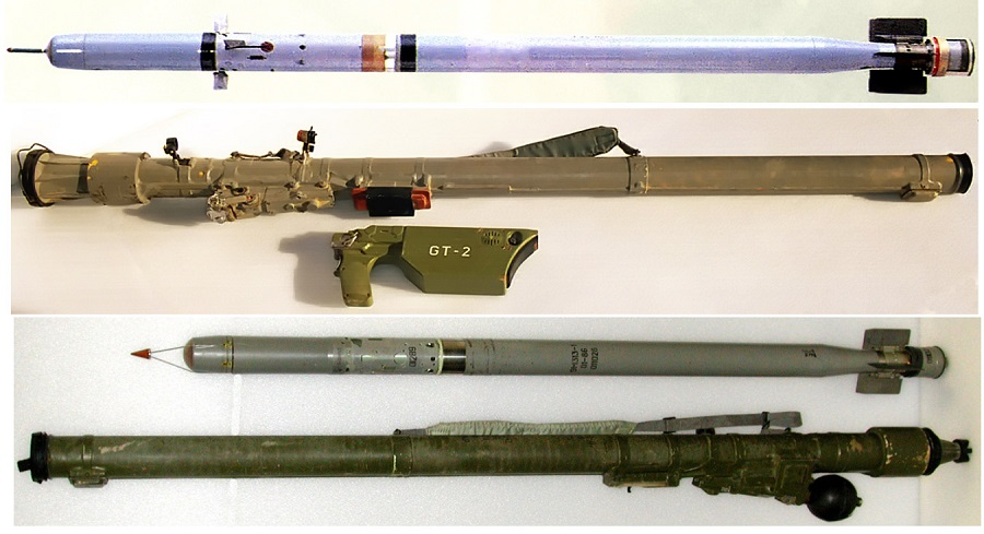 200226 SA 16 and SA 18 missiles and launchers